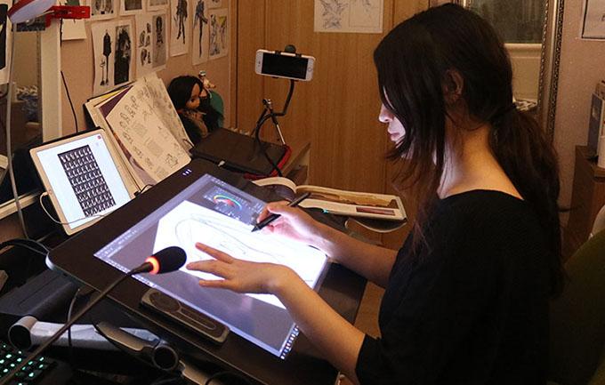 安谷動畫-美國專業動畫師資教學平台